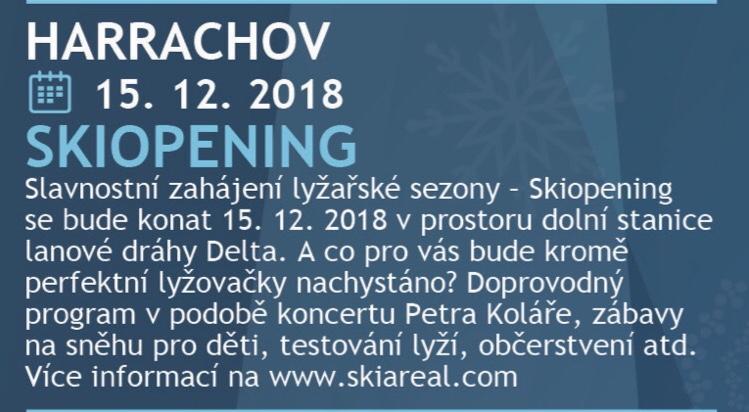 Skiopening Harrachov 15. 12. 2018