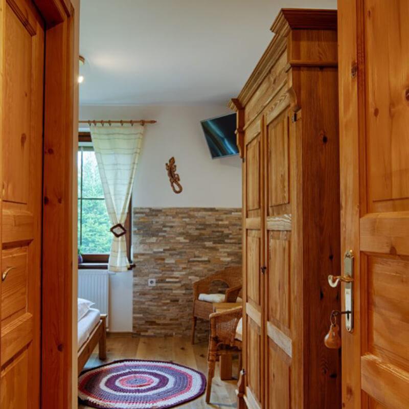 Vila Sekvoj - ubytování Harrachov - pokoj 1