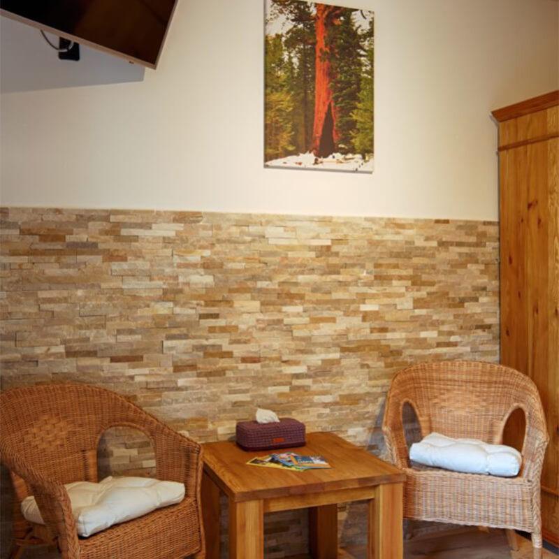 Vila Sekvoj - ubytování Harrachov - pokoj 1 - sezení