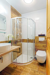 Vila Sekvoj - ubytování Harrachov - pokoj 1 - sprchový kout