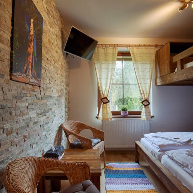 Vila Sekvoj - ubytování Harrachov - pokoj 2