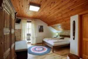 Vila Sekvoj - ubytování Harrachov - pokoj 4
