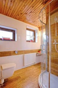 Vila Sekvoj - ubytování Harrachov - pokoj 4 - koupelna